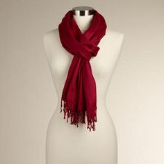 Give the gift of warmth with a stylish Pashmina Shawl.