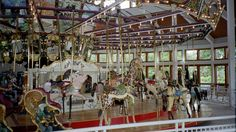 Coolidge Park Carousel. Original 1905 Dentzel Carousel Platform  With All New Carvings | Flickr - Photo Sharing!
