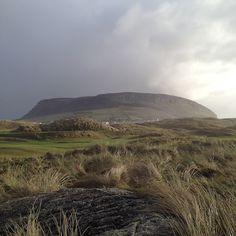 Knocknarea, County Sligo. Queen Maebh's Cairn, near my grandmother's birthplace