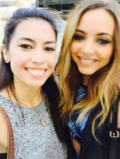 Jade with fans today in San Diego.