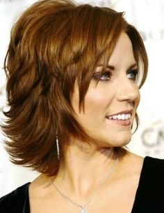 medium hairstyles for mature women - layered haircut for women ...
