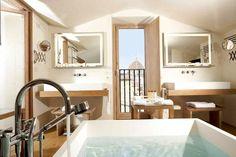 cool hotel bath.