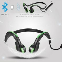 538791e6b8a Bluetooth Bone Conduction Stereo Open Ear Headphones Headset Earphone  Sports For Tablet