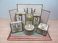 Miniature Soap and Perfume Display