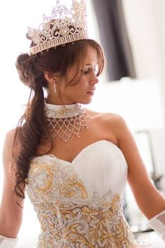 """CGM interviews """"My Big Fat American Gypsy Wedding"""" designer Sondra Celli! love the dress Gypsy Wedding Gowns, My Big Fat Gypsy Wedding, Gipsy Wedding, Wedding Looks, Dream Wedding, Wedding White, Perfect Wedding, Sondra Celli, Gypsy Culture"""