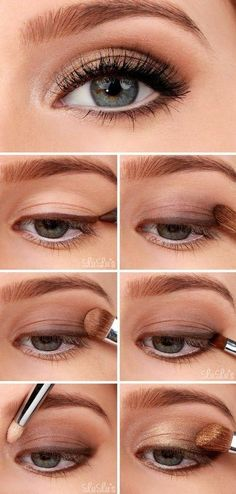 Step by step natural look