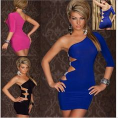 Online Cheap 2014 New Womens Dresses Sexy Clubwear Bodycon Hallowout Strap For Party Girl Hx 018# By Fashionup | Dhgate.Com