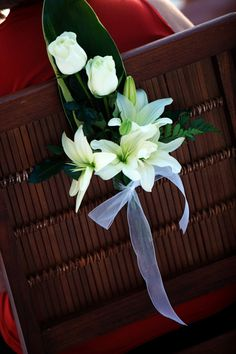 Flower details at the ceremony chairs will make the ambiance more romantic Online Flirting, Beach Wedding Decorations, Wedding Ideas, One Night Stands, First Night, Beautiful Bride, Wedding Events, Dream Wedding, Romantic
