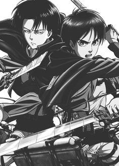 Eren & Levi - Attack on Titan