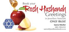 Book your Rosh Hashanah Greetings in our Jewel Trader Magazine