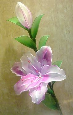 nylon flower