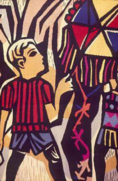 Antonio Berni, Sin título, 1967, tapiz. Col. privada