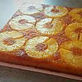 Moelleux renversé à lananas - Ptit Sablé sengourmandise ! Vegan Dessert Recipes, Pastry Recipes, Biscuit Cake, Pineapple Cake, Yummy Cakes, I Foods, Food And Drink, Cooking, Sweet