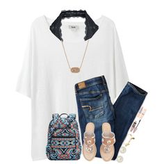 A fashion look from July 2016 by breezerw featuring Acne Studios, Free People, American Eagle Outfitters, Jack Rogers, Vera Bradley, Honora, Kendra Scott, Alex...