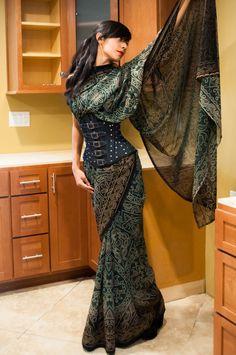 Un vestido con un diseño muy atractivo, femenino y original - http://imgur.com/topic/Design_&_Art/MwB9f