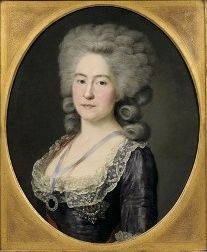 Portrait of Countess Alexandra Branicka (1754-1838), Voille