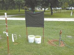 Horse Fly Trap Plans Canopy Trap For Horse Flies
