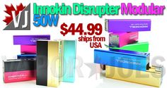 TYGER APPROVED! – Innokin Disrupter 50W APV Kit – $44.99 from USA