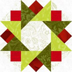 Twinkling Star Quilt Block