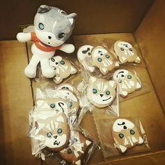 follow me, take me home!!! #husky #arttoyculture #toy #seoul #cookie #lovely