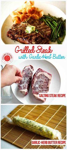 "Turning ""Choice"" steak into Gucci ""Prime"" steak. | steamykitchen.com ~ https://steamykitchen.com"