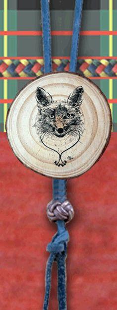 BSA Wood Badge Fox Woggle Critter