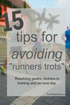 Avoiding Runners Trots - Advice from 6 coaches for runners with GI distress