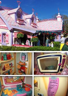 Minnie Mouse's House, miss it being at WDW!