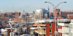 Sherbrooke Canada, Street View, City