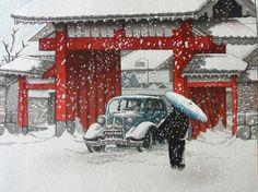 Shin-hanga 新版画, Kawase Hasui y Yoshida Hiroshi - Kirai – Un geek en Japón by Héctor García