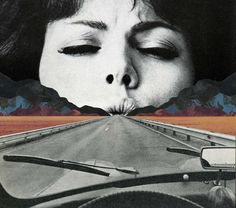 Going Nowhere. Sammy Slabbnick is a Belgian collage artist who employs found photography to create surreal collage landscapes.