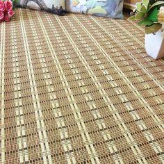 Alfombra de bambú hilo trenzado Costa Rica - latiendawapa