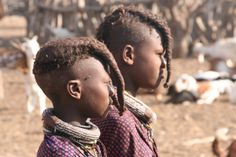 A tale of a Himba - proud, yet humble