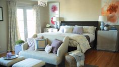 Designer Nathan Turner divulges the secrets for creating a relaxing and beautiful bedroom. Watch and learn!/