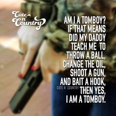 more Cute n' Country visit: and /cuteandcountry Real Country Girls, Country Girl Life, Country Girl Problems, Cute N Country, Country Style, Thats The Way, That Way, Just For You, Cute Quotes