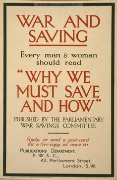 Examples of Propaganda from WW1   WW1 War Bond Posters Page 71