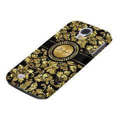 =>>Cheap          	Metallic Black & Gold Vintage Damasks Monogram Galaxy S4 Cover           	Metallic Black & Gold Vintage Damasks Monogram Galaxy S4 Cover This site is will advise you where to buyDeals          	Metallic Black & Gold Vintage Damasks Monogram Galaxy S4 Cover Review...Cleck Hot Deals >>> http://www.zazzle.com/metallic_black_gold_vintage_damasks_monogram_case-179497891281686435?rf=238627982471231924&zbar=1&tc=terrest