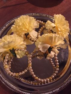 DIY Bracelets made for the girls by the bride