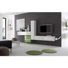 Meuble TV design BOX LINEA COLOR COLONNE