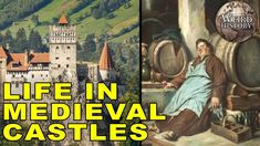Despite what pop culture might have you believe, living in a medieval castle wasn't all that glamorous. If you were one of the lucky ruling class, you. Medieval Fortress, Medieval Castle, Life Is Like, What Is Life About, Middle Ages History, Weird Facts, Strange Facts, Mystery Of History, Sword And Sorcery