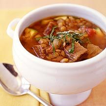 Italian Beef and Lentil Slow-Cooker Stew