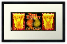 1927 1987 Chinese zodiac born Fire rabbit by Valxart.com  by Valxart Valxart has art for 60 years of the Chinese zodiac and available on cards, framed art and prints and shirts on redbubble. If you do not see desired product or products email info@valxart.com . See and follow valxart on pinterest at valxart.com  We also have all years of Chinese zodiac combined with western astrology sign and horoscope forecast.