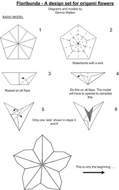 the 84 best origami flowers images on pinterest paper flowers rh pinterest com origami flowers diagrams origami flower diagrams pdf