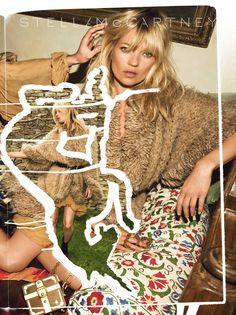 La campagne Stella McCartney automne-hiver 2007-2008, photographiée par Inez & Vinoodh