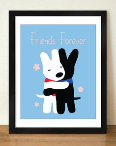 Digital Download Gaspard and Lisa Friends Forever by dotsonthewall, $6.00