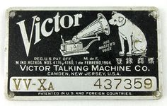 victor talking machine company records value