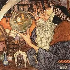 Father Time,  Edmund Dulac, French illustrator, (1882 –1953)