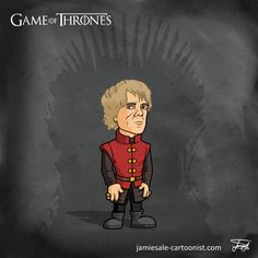 Tyrion Lannister Game of Thrones Cartoon Character