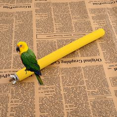 Colorful Pet Bird Bite Chew Toy Paw Grinding Cleanfor Toys Parrot Bites Cage Parakeet Budgie Clean Tool