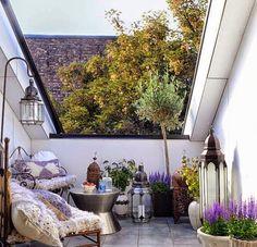 Terrazas con inspiración Marroquí   Decorar tu casa es facilisimo.com